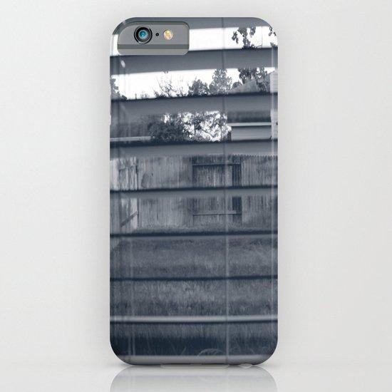 Black & White Background iPhone & iPod Case
