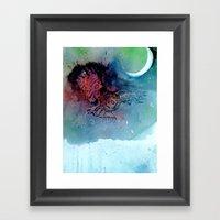 Of The Night Framed Art Print