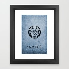 Avatar Last Airbender - Water Framed Art Print