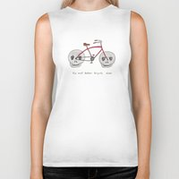 the most badass bicycle ever Biker Tank