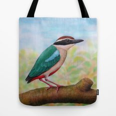 Fairy Pitta Tote Bag