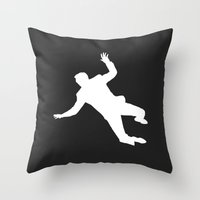 North By Northwest Throw Pillow