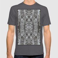 woods Mens Fitted Tee Asphalt SMALL