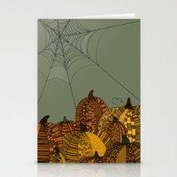 Halloween Pumpkins Stationery Cards