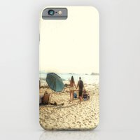 iPhone & iPod Case featuring Beach Couple by Barbara Gordon Photography