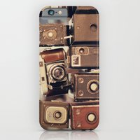 iPhone & iPod Case featuring Old Cameras (Vintage and Retro Film Cameras Collection) by AC Photography