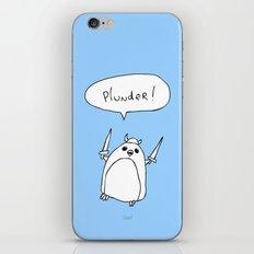Plunder Penguin iPhone & iPod Skin