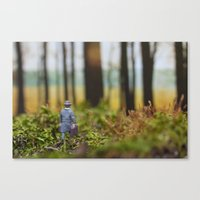In Search Of Bigfoot (Od… Canvas Print