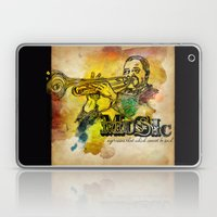 Music Epression Laptop & iPad Skin