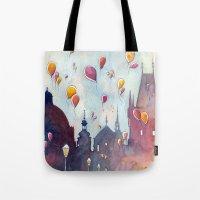 Balloons At Charles Brid… Tote Bag