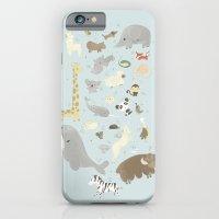 iPhone & iPod Case featuring Animalphabet by Laura Gómez