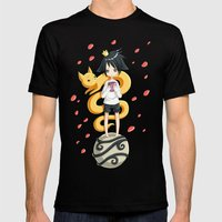 Little Prince Mens Fitted Tee Black SMALL