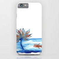 The Lotus and the Goldfish iPhone 6 Slim Case