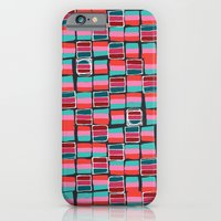 iPhone & iPod Case featuring Pixel Pattern by Katy Clemmans