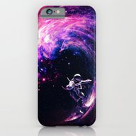 iPhone & iPod Case featuring Space Surfing by Nicebleed