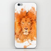 Splatter Lion iPhone & iPod Skin