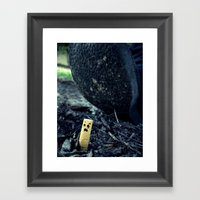 Smush Framed Art Print