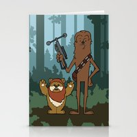 EP6 : Chewbacca & Widdle Stationery Cards