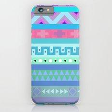 Calm Colored Tribal Print Slim Case iPhone 6s
