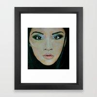 THE EURASIAN GIRL Framed Art Print
