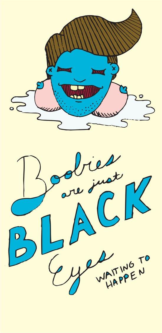 Boobies are Just Art Print