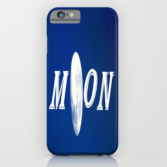 Moon iPhone & iPod Case