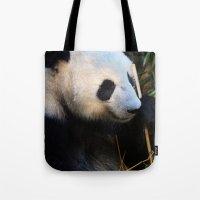 Panda Nap Tote Bag