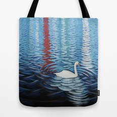 Red house over yonder. Tote Bag