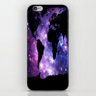 iPhone & iPod Skin featuring World Map. by WhimsyRomance&Fun