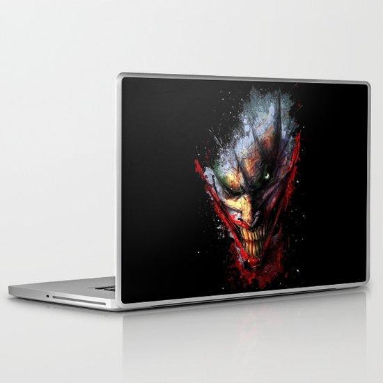 Joker Face  Laptop & iPad Skin