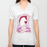 No More Happy Ever Afters Unisex V-Neck