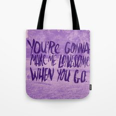 POOR LONESOME ME Tote Bag