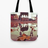 Roadside water Tote Bag