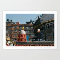 Nepali Woman Art Print