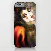 iPhone & iPod Case featuring The Geisha by NosProd