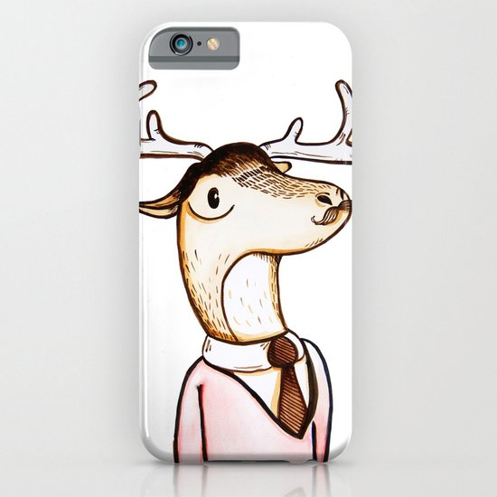 Professor Caribou iPhone & iPod Case