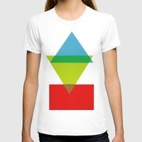 Peaks Womens Fitted Tee White SMALL