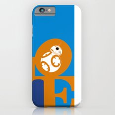 Robot LOVE - Orange Slim Case iPhone 6s