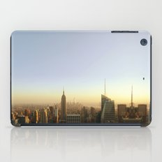 New York Skyline @ Dusk with Empire State Building iPad Case