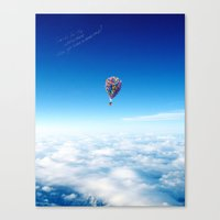 Canvas Print featuring Glamorous Sky by  Maʁϟ