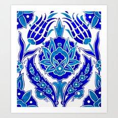Turkish Design Art Print