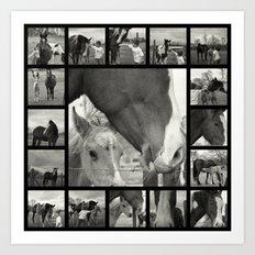 Boy Meets Horse Art Print