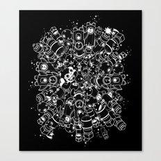 For Good For Evil - ver2 BLACK Canvas Print