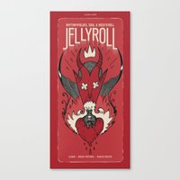Jellyroll #7: Love Potion #9 Canvas Print