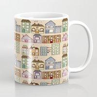 Houses Mug