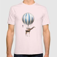 Sticking your neck out Mens Fitted Tee Light Pink SMALL