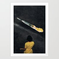 SPACE OUT... (2) Art Print