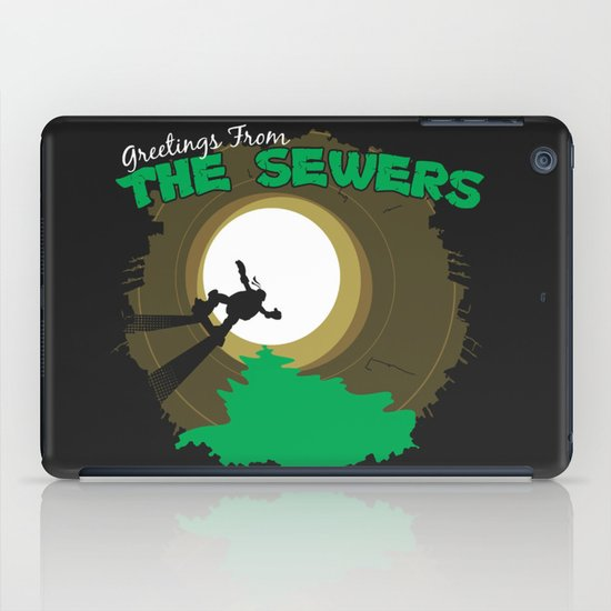 Greetings From the Sewers iPad Case