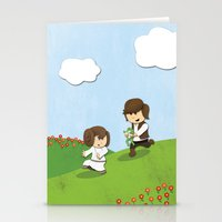SW Kids - Han Chasing Le… Stationery Cards