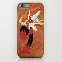 iPhone & iPod Case featuring Megablaziken by JHTY